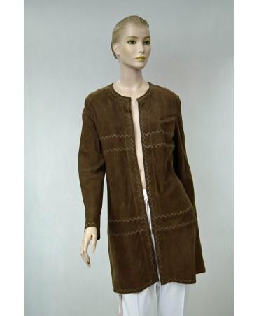 brązowy płaszcz riani