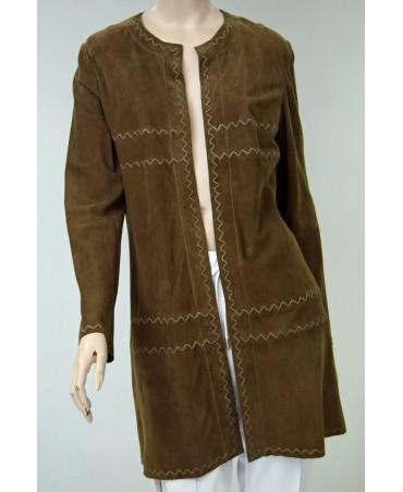 riani brązowy płaszcz