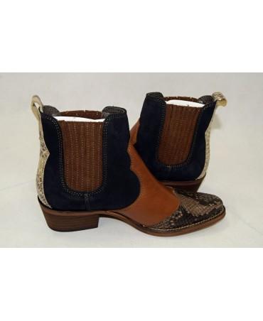 buty 37 czarno-brązowe riani