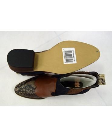 37 buty czarno-brązowe riani